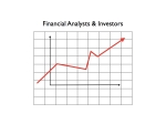 Financial Analysts & Investors