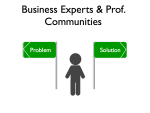 Business Experts and Professional Communities