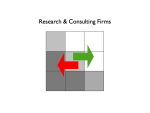 Research and Consulting Firms