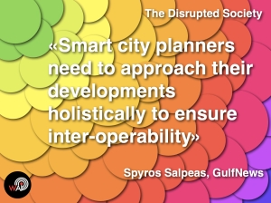 The Disrupted Society - Smart Cities