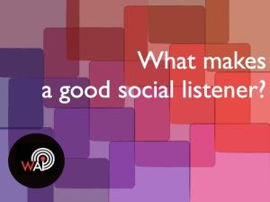 Social listener