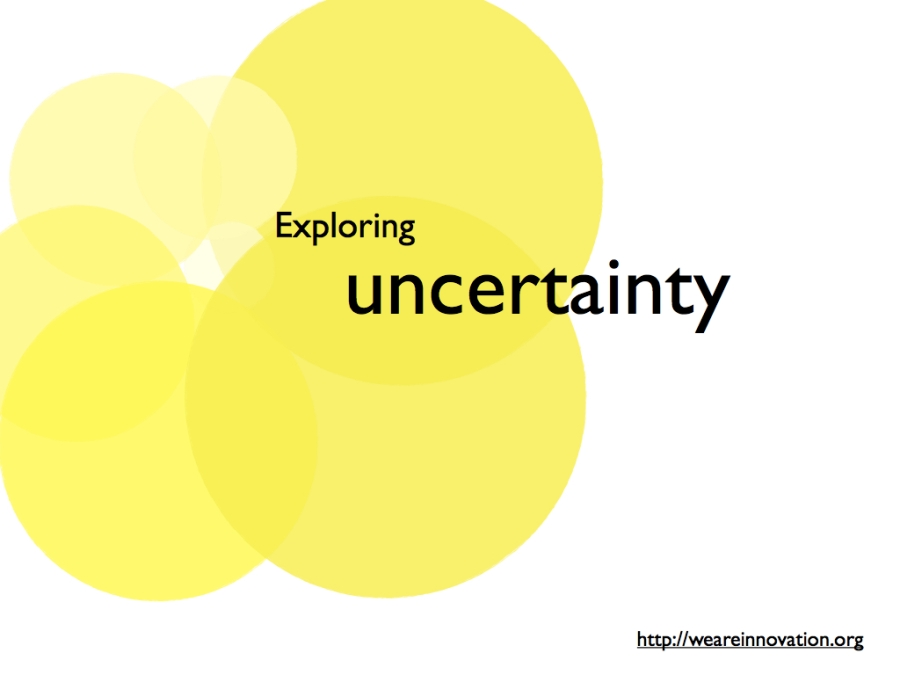 Exploring uncertainty
